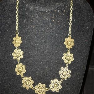 Five necklace and earring set for $30